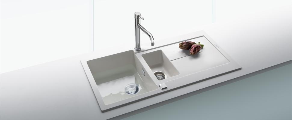 carysil - Edelstahl-Spülen, Granit-Spülen